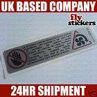 MK2 Golf GTI Engine Bay Warning Sticker 283 items in flystickers store