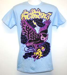 IN THIS MOMENT Owl NEW Mens T shirt TEE size S