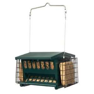 Heritage Farms 7454 Green Mini Seeds N More Feeder Mini