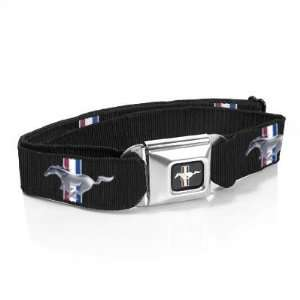 FORD MUSTANG LOGO Print Seat Belt style Belt and buckle combo canvas