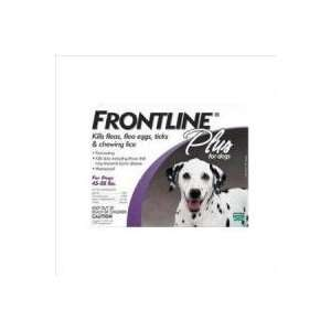 Frontline Plus Flea and Tick Treatment for Large dogs 45