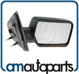 04 06 Ford Pickup Truck F150 Power Textured Heated Signal Mirror Right