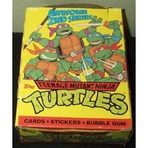 Teenage Mutant Ninja Turtles Trading Cards Box Series 2