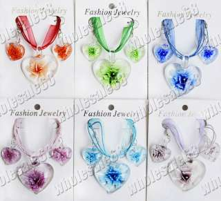 wholesale lots Murano Glass Necklaces&Earri​ngs Jewelry