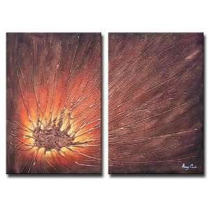 Fire Flying Hand Painted Canvas Art Oil Painting