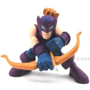 FREE SHIP NEW MARVEL SUPER HERO SQUAD HAWKEYE ACTION FIGURE F81