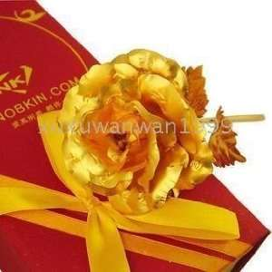 wedding anniversary gift spicial 24k gold roses for valentiness day