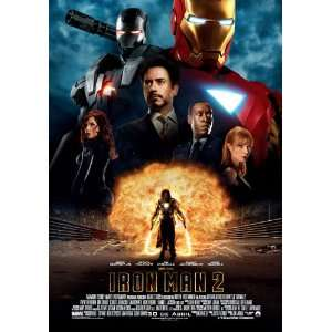 Iron Man 2 Poster Spanish 27x40 Robert Downey Jr Scarlett