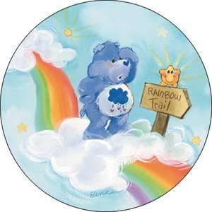 Care Bears Grumpy Bear Rainbow Button B CB 0005 Toys