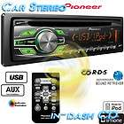 NEW Pioneer In Dash Single DIN CD/ Car Stereo Receiver for iPod