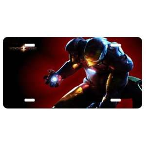 Iron Man License Plate Sign 6 x 12 New Quality
