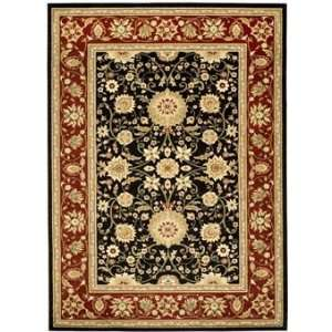 Safavieh Rugs Lyndhurst Collection LNH212G 9 Black/Red 9