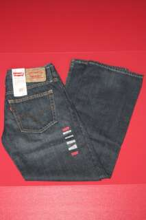 NWT MENS LEVIS 527 BOOT CUT JEANS OVERHAUL