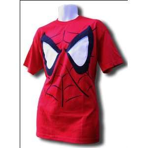SPIDER MAN Eyes Red Womens T shirt Small Sports