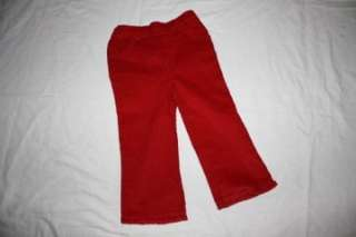 NWOT BT KIDS PANTS/SWEATER INFANT GIRLS 24 MONTH CHRISTMAS HOLIDAY