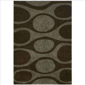 Angela Adams 10710 Kenga Dark Brown Contemporary Rug