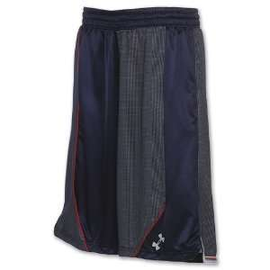 Under Armour Mens Blur Basketball Shorts Blue Size 3XL