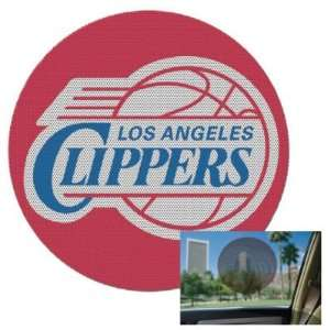CLIPPERS OFFICIAL LOGO 8 PERFORATED WINDOW DECAL