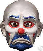 Dark Knight Joker Clown PVC Masks Two for One(2 masks)