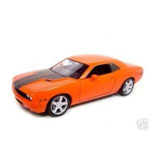 2006 Dodge Challenger Concept Orange Diecast Car Model 1