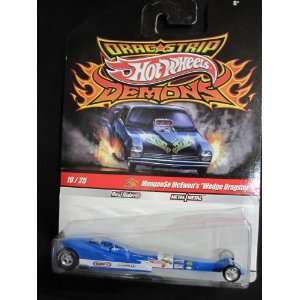 Drag Strip Demons Mongoose McEwens Wedge Dragster Toys & Games