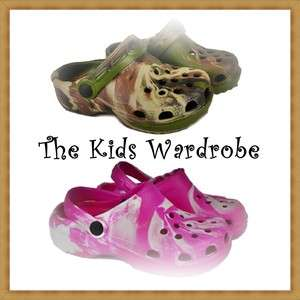 CLOGS CROCS STYLE GIRLS BOYS NEW SHOES SANDALS BEACH 4 5 6 7 8 9 10 11