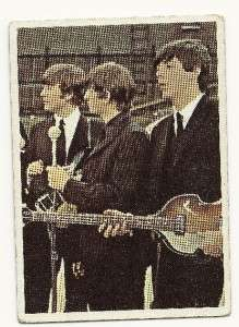 Lot of 2 Beatles Color Cards Card Topps TCG # 37 & 60