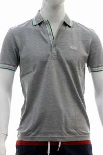 Hugo Boss Mens Modern Fit Paddy Polo Grey Shirt 50198254