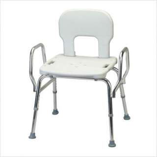Eagle Health Heavy Duty Shower Chair with Back / Arms 62621