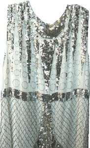 647 NEW BCBG MAXAZRIA SEQUIN EMBELLISHED MINI DRESS M