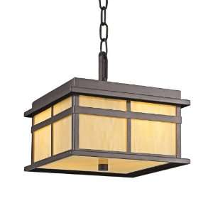 Kichler Lighting 49050AZ 2 Light Booth Bay FlushMount Outdoor Light