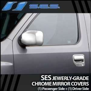 2005 2012 Honda Ridgeline SES Chrome Mirror Covers
