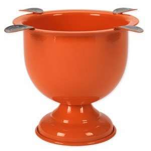 Stinky Cigar 4 Stirrup Tall Ashtray   Competition Orange