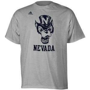 adidas Nevada Wolf Pack Second Best T Shirt   Ash