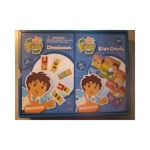 Nick Jr. Go Diego Go Play Set (Dominoes & Kidz Cards) Toys & Games