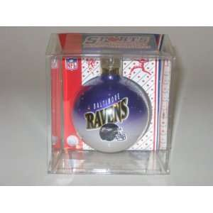 BALTIMORE RAVENS (2 5/8 In Diameter) Multi Color CHRISTMAS ORNAMENT
