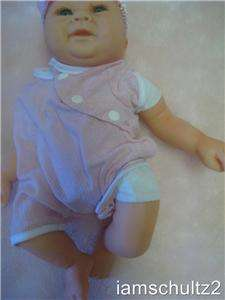 NEW Hard To Find Rare Sandy Faber Uneeda Lifelike Newborn Baby Doll