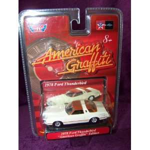 American Grafitti 1978 Ford Thunderbird Die Cast Car Toys