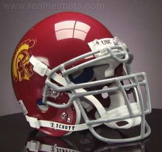 USC TROJANS Football Helmet USC FRONT NAMEPLATE Decal