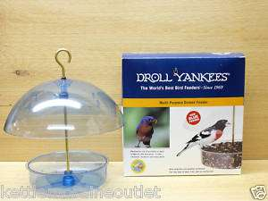 Droll Yankees X 1B Multi Purpose Domed Bird Feeder Blue