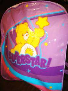 NEW CARE BEARS SCHOOL BACKPACK DIAPER BAG PARTY FAVORS