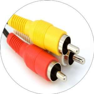 Speaker Cables Art   Fridge Magnet   Fibreglass reinforced plastic