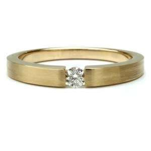14k Two Tone Gold Classic Wedding Band (6.00 mm)