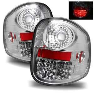 97 03 Ford F150 Flareside LED Tail Lights   Chrome Automotive