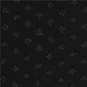 Wide Chiffon Clip Dot Black Fabric By The Yard Arts, Crafts & Sewing