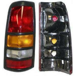 CHEVROLET SILVERADO PICKUP TAIL LIGHT LH (DRIVER SIDE) TRUCK, Assy, w