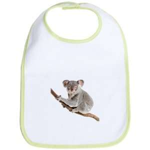 Baby Bib Kiwi Koala Bear on Branch