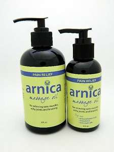 Amazing Natural Arnica Pain Relief Massage Oil