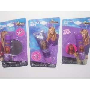 Hannah Montana Girls Rock Grape Lip Balm & Lip Gloss (Sold