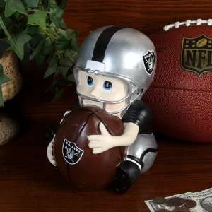 NFL Oakland Raiders Kids Football Player Bank Sports